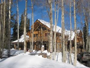 skiing-house